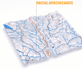 3d view of Mai-sa-lanhsi-hsawng