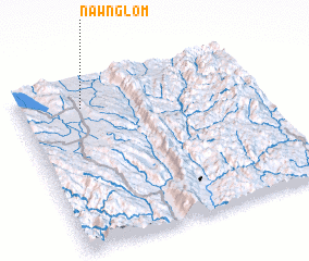 3d view of Nawng Lom