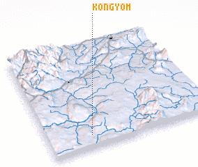 3d view of Köngyom