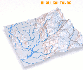 3d view of Hkalu-gahtawng