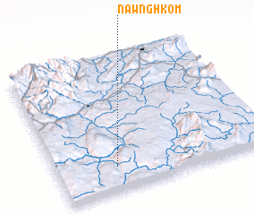 3d view of Nawnghkom