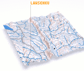 3d view of Lawse-hku