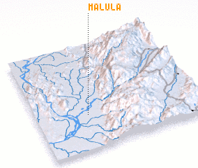 3d view of Malula