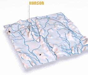 3d view of Konson