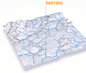 3d view of Namyāng