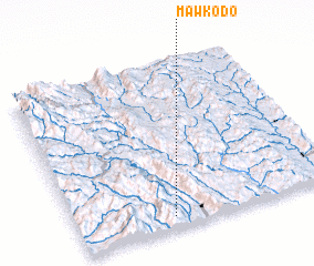 3d view of Mawkodo