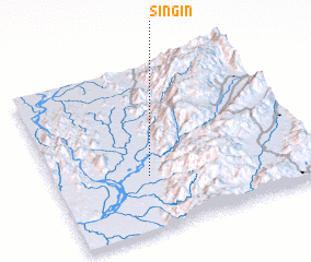 3d view of Si-ngin