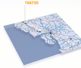 3d view of Thaton
