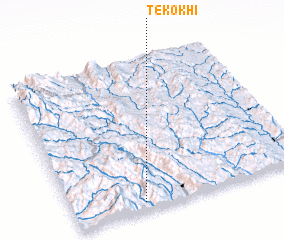3d view of Tekokhi