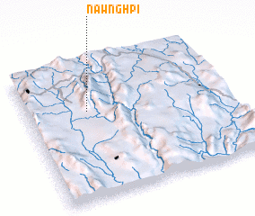 3d view of Nawng Hpi