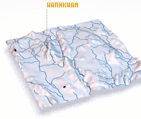 3d view of Wān Hkwam