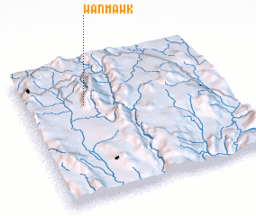 3d view of Wān Mawk