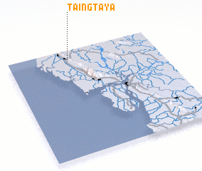 3d view of Taingtaya