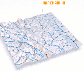 3d view of Kanekawkhi