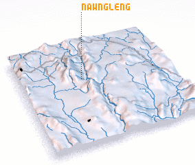 3d view of Nawng Leng