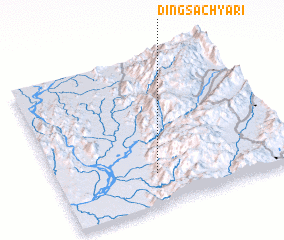 3d view of Dingsa Chyāri
