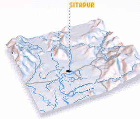 3d view of Sitapur