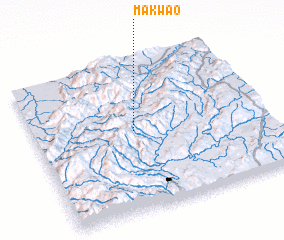 3d view of Makwao