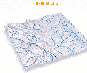 3d view of Nawngkeng