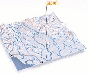 3d view of Sizon