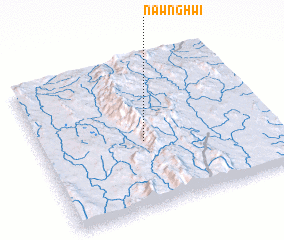 3d view of Nawng Hwi