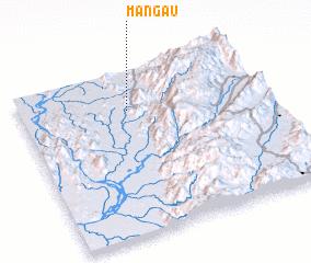 3d view of Māngau