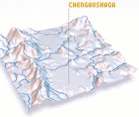 3d view of Chengau Shaga