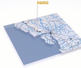 3d view of Paung