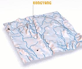 3d view of Kong-yang