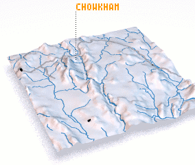 3d view of Chowkham