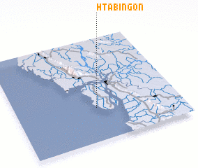3d view of Htabingôn