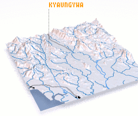 3d view of Kyaung-ywa