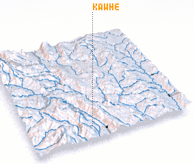 3d view of Kawhe