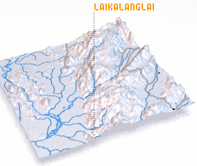3d view of Laika-lānglai