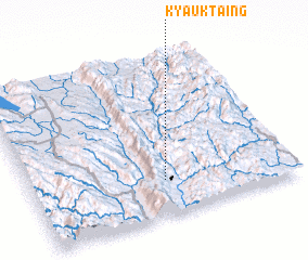 3d view of Kyauktaing
