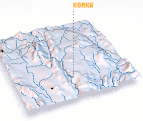 3d view of Komka