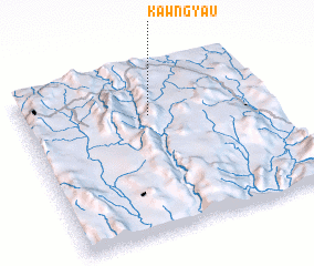 3d view of Kawngyau