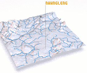 3d view of Nawng-leng