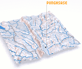 3d view of Pūnghsa-sè