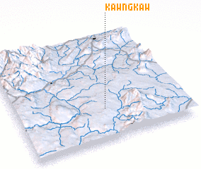 3d view of Kawngkaw