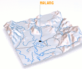 3d view of Malang
