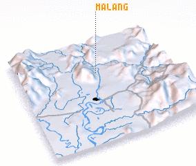 3d view of Malang