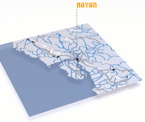 3d view of Mayan