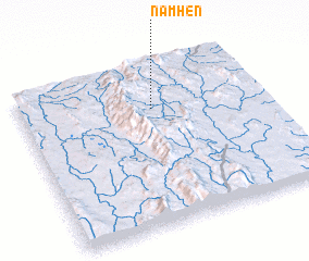 3d view of Namhen