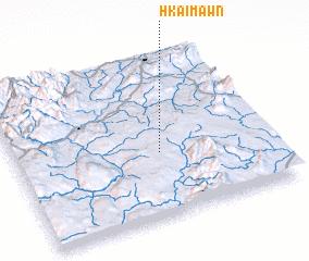 3d view of Hkai-mawn