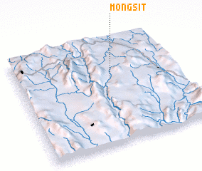 3d view of Möng Sit