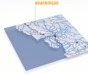 3d view of Ananbingon