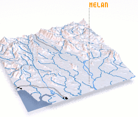 3d view of Melan