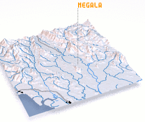 3d view of Megala