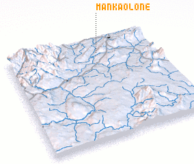 3d view of Mān-kao-lone